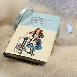 Alice in Wonderland 🐇 hardcover book